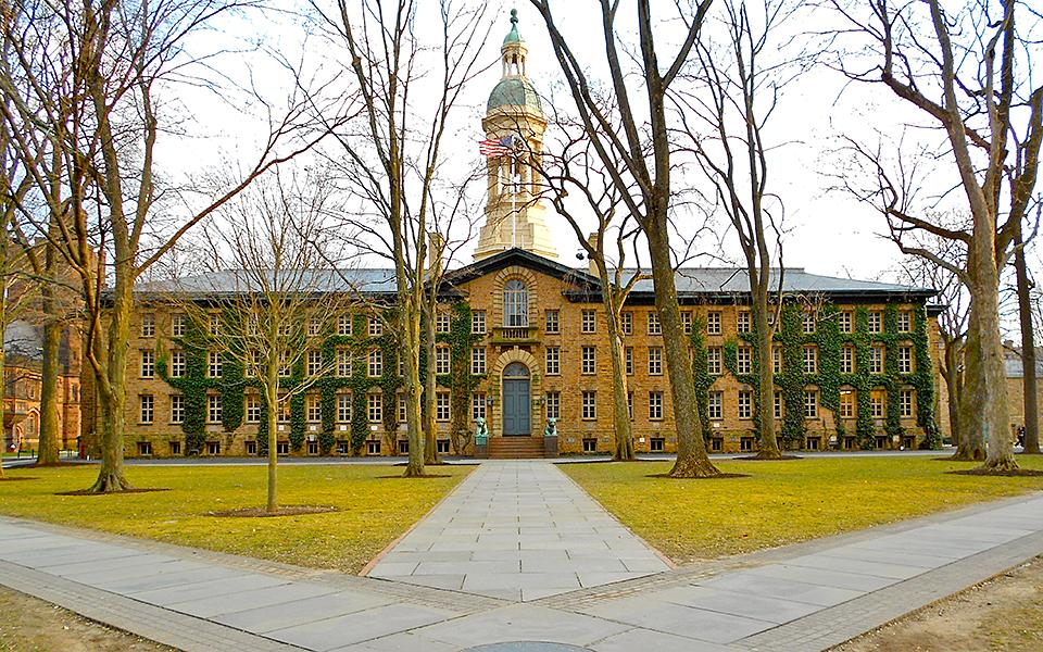 Nassau Hall, Princeton